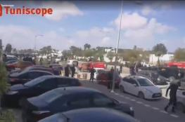 جرحى من قوات الأمن بتفجير انتحاري قرب السفارة الأميركية في تونس