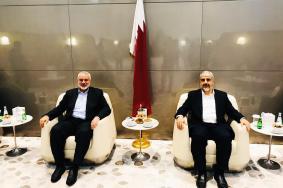 هنية وقيادة الحركة يجتمعون في الدوحة