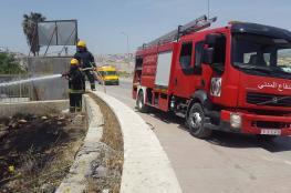 الدفاع المدني يتعامل مع 450 حادث إطفاء وإنقاذ