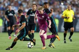 مانشستر سيتي يسحق ريال مدريد برباعية