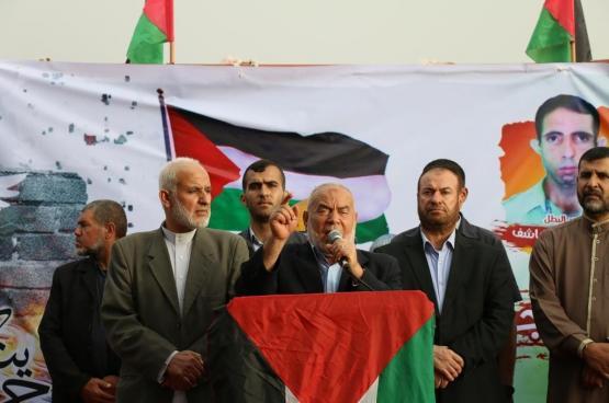 بحر: الشعب الفلسطيني سيحتضن المقاومة وسيكون بجانبها