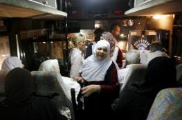 الاحتلال يحتجز أهالي أسرى سجن النقب