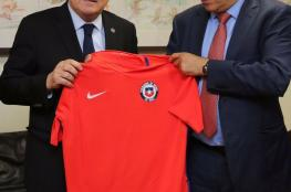 """اتحاد الكرة يبحث مع مسؤولي """"بالستينو"""" تعزيز التعاون مع الأندية الفلسطينية"""