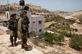 الاحتلال يخطر بوقف بناء بئر زراعية جنوب بيت لحم