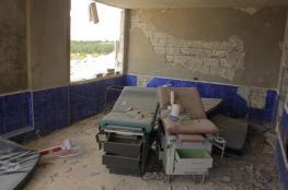 طائرات النظام تقصف مستشفى ولادة في إدلب