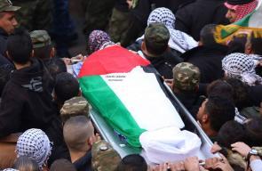 بيت لحم:تشييع جثمان الشهيد قصي العمور
