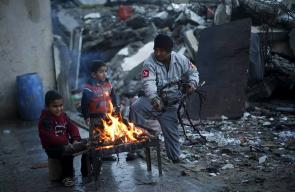 من شتاء غزة