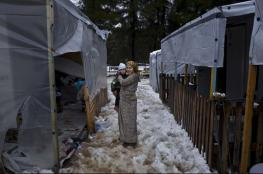 هنغاريا ترفض فتح حدودها للاجئين الهاربين من شدة البرد