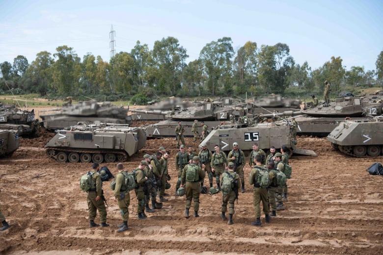 نتنياهو يهدد قطاع غزة بعملية عسكرية واسعة