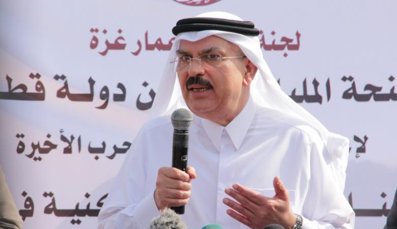 اللجنة القطرية: العمادي سيوقع عقود مشاريع جديدة لغزة