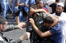 شهيد بغزة ومواجهات بالضفة واقتحامات بالأقصى