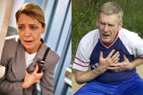 ما الفرق بين أعراض النوبة القلبية لدى الرجال والنساء؟