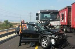 10 إصابات خطيرة بحادث سير قرب البحر الميت