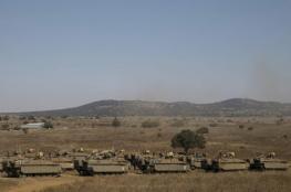 """""""إسرائيل"""" تقصف أهدافاً سورية بالجولان"""
