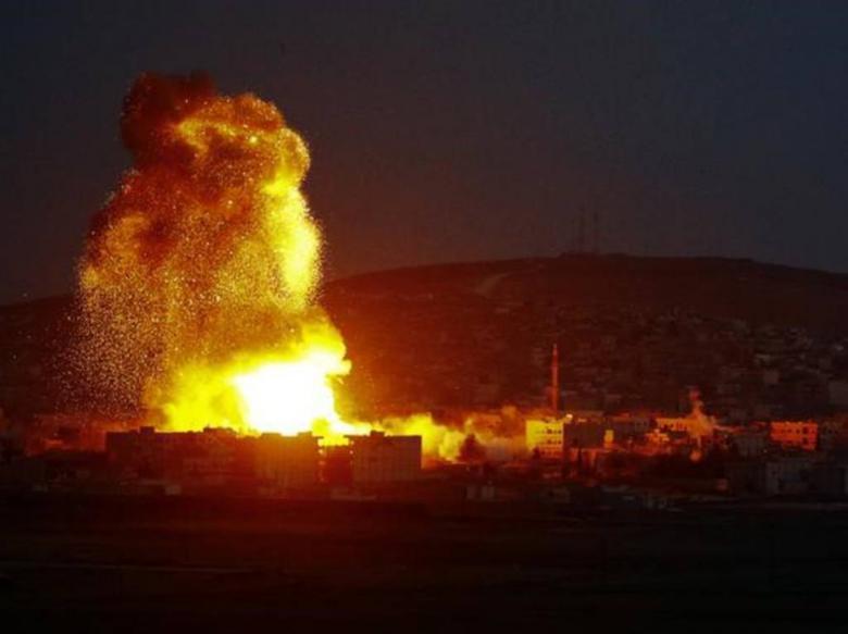 الاحتلال يقصف بـ 10 صواريخ مناطق زراعية برفح