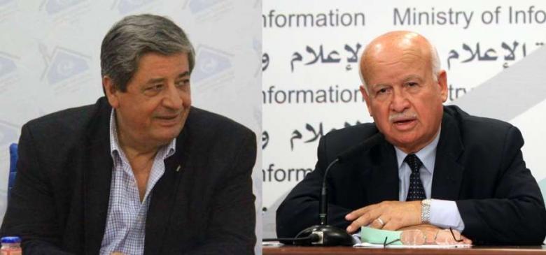 الاحتلال يمنع الأغا والشرافي من مغادرة القطاع