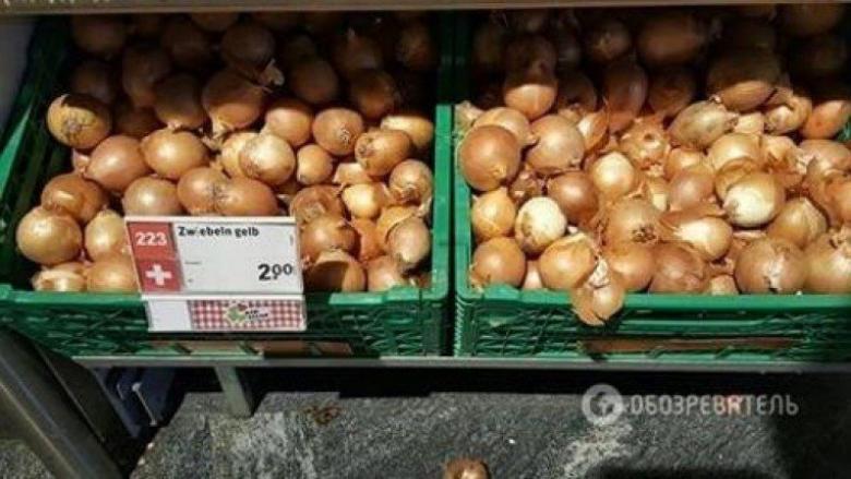 قشور البصل أثمن من البصل نفسه في سويسرا!