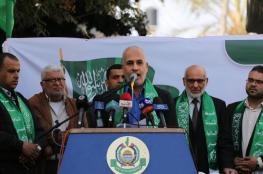 حماس: مهرجان مركزي كبير في ذكرى الانطلاقة