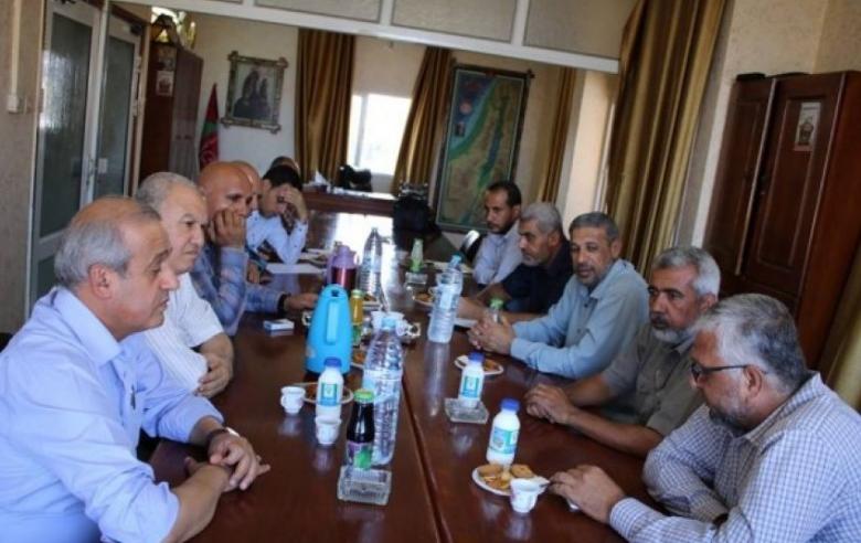 اجتماع تنسيقي بين الجبهة الشعبية ولجان المقاومة بغزة