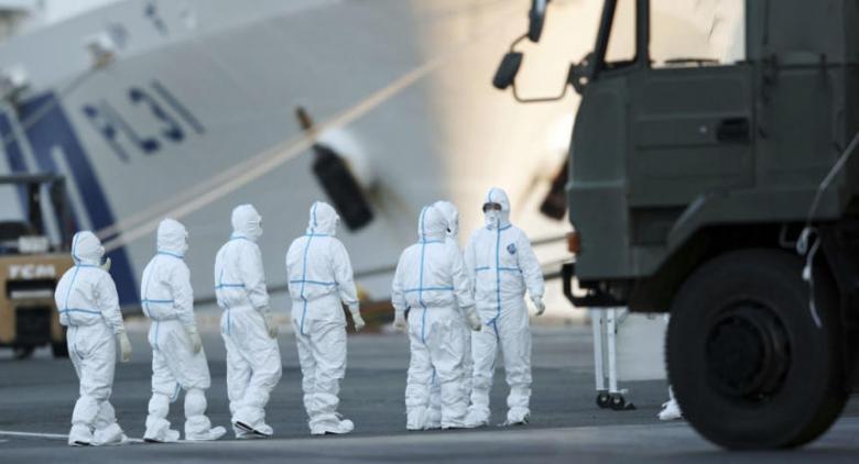 """إصابة 99 راكبًا على متن السفينة السياحية """"دياموند برنسيس"""" بفيروس كورونا"""
