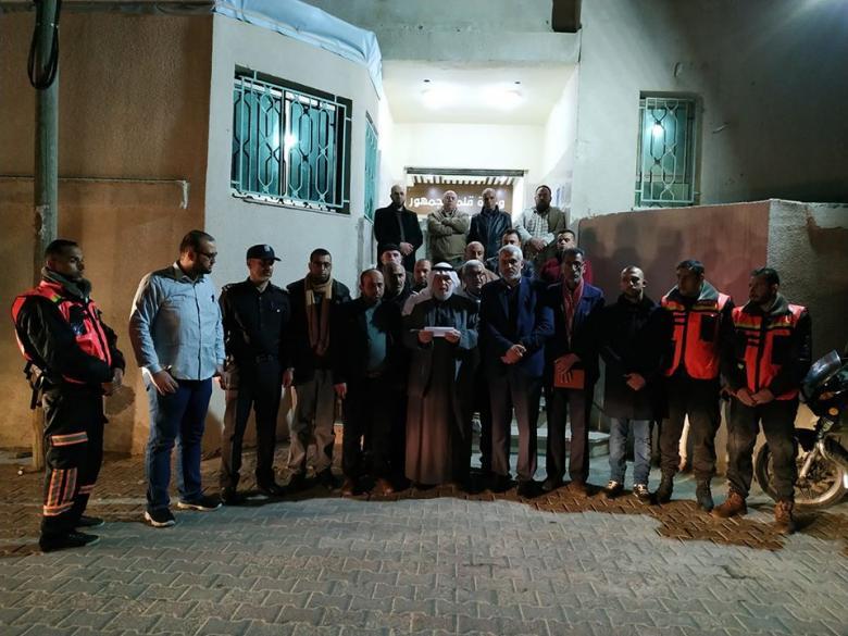 ضمن خطة الطوارئ .. بلدية البريج تعقد اجتماعاً طارئاً ومؤتمراً صحفياً