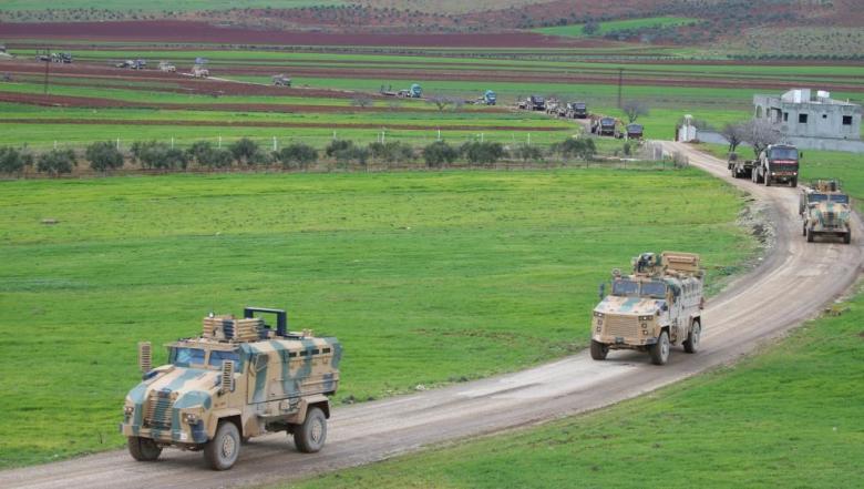 تحركات تركية مكثفة وتدمير 115 هدفا للنظام السوري