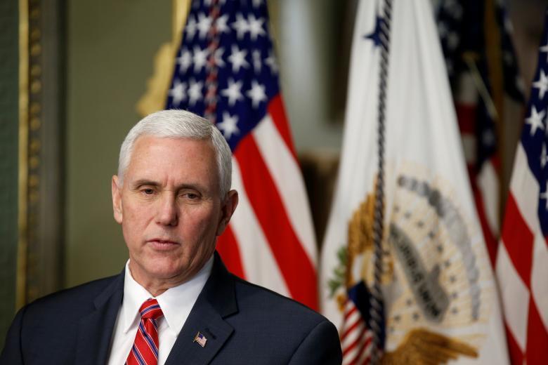"""نائب الرئيس الأمريكي: ملتزمون بأمن """"إسرائيل"""""""
