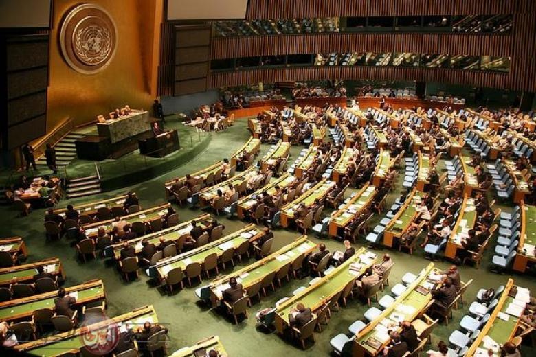 الجمعية العامة تصوّت على مشروع أمريكي يدين المقاومة