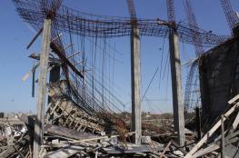 5 إصابات في انهيار سقف قيد البناء غرب غزة