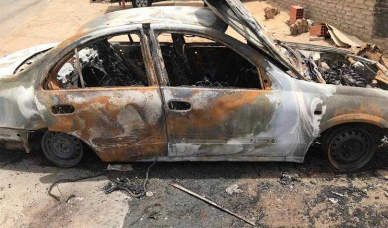 حرق سيارة.. أول حادث بالسعودية بعد قيادة المرأة