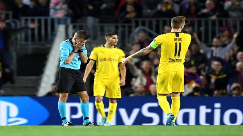 حكم برشلونة ودورتموند ضحية لسواريز في ليلة الأبطال!