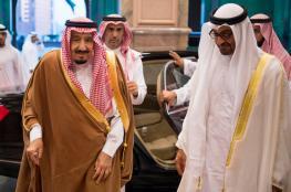 ابن زايد يصل مكة ويلتقي الملك سلمان ونجله