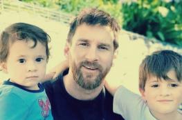 ميسي: ابني يحتفل بأهداف ريال مدريد