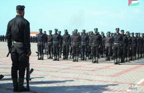 وزارة الداخلية بغزة تُخرج دورة المستجدين