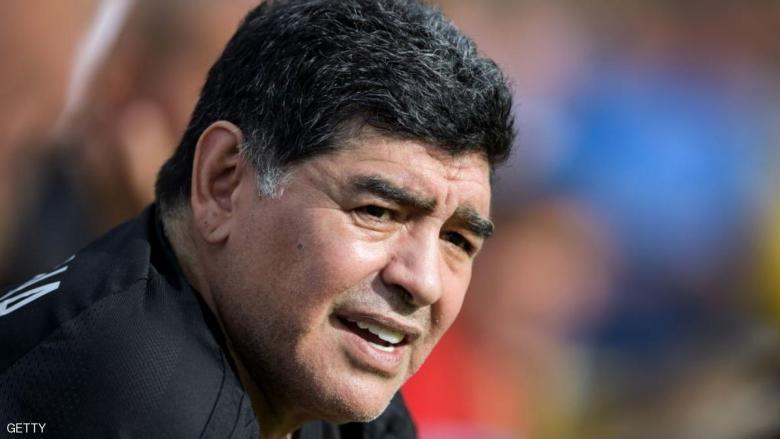 """مارادونا """"جندي"""" تحت أمر رئيس فنزويلا"""