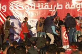 """الاعتداء على القيادي """"مزهر"""" بمهرجان للشعبية شمال القطاع"""
