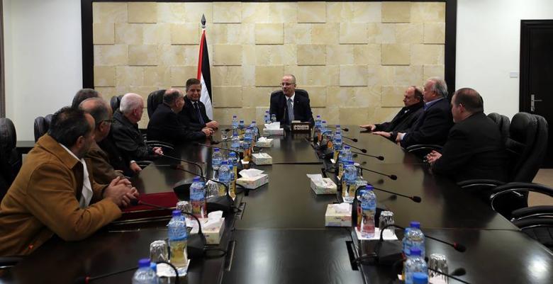 الحمد الله يؤكد على دعم الحكومة لمؤسسات القدس