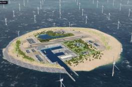 بناء جزيرة صناعية لتزويد أوروبا بالطاقة