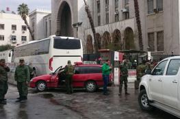 انفجار عبوة ناسفة في دمشق يسفر عن وقوع إصابات