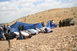 """إلغاء أوامر هدم ضد أحد تجمعات عرب """"الكعابنة"""""""