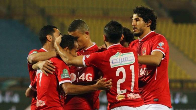 الأهلي يتغلب على المصري بمشاركة الفلسطيني محمود وادي