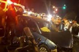 مصرع مواطنة إثر حادث سير شمال مدينة القدس