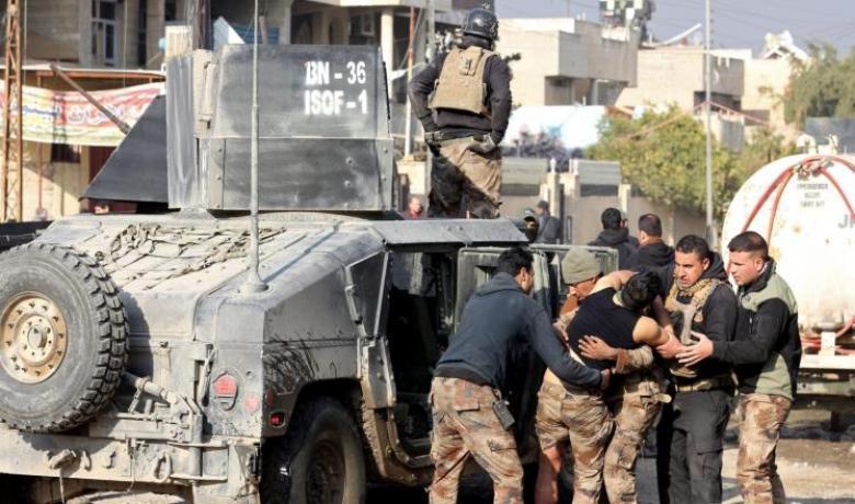 القوات العراقية توسع سيطرتها شرقي الموصل