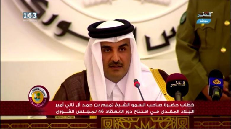 أمير قطر: تساميْنا فوق الإسفاف ومشاريعنا مستمرة