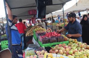 سوق الإثنين الأسبوعي بالنصيرات