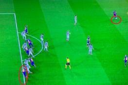 ماذا يقول قانون كرة القدم في ركلة الجزاء المحتسبة لبرشلونة في مباراة سوسييداد؟