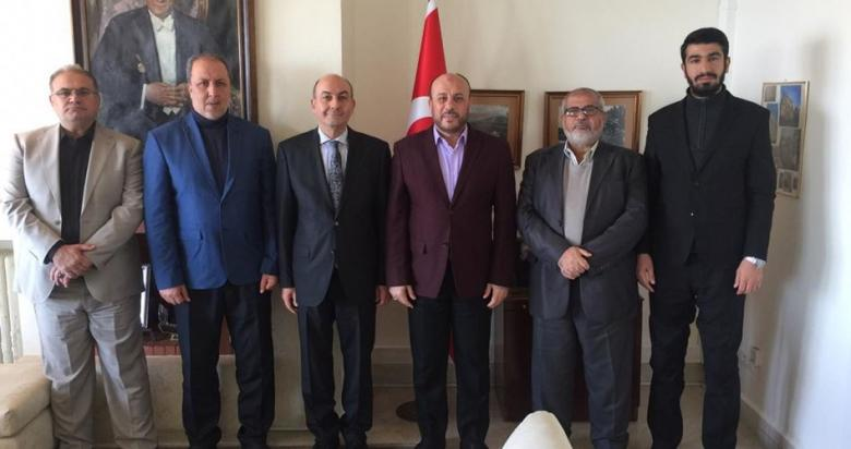 حماس تبحث مع السفير التركي ببيروت المستجدات الفلسطينية