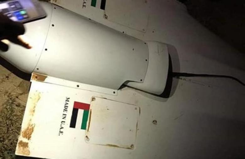 قوات الوفاق بليبيا تسقط طائرة إماراتية مسيرة بمصراتة