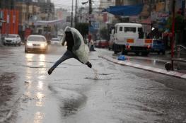82.4 بالمئة نسبة هطول الأمطار على قطاع غزة