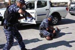 رام الله: القبض على شخص متهم بحيازة مواد مخدرة
